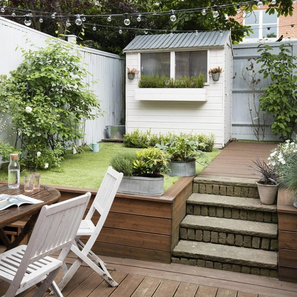 piccolo giardino livelli