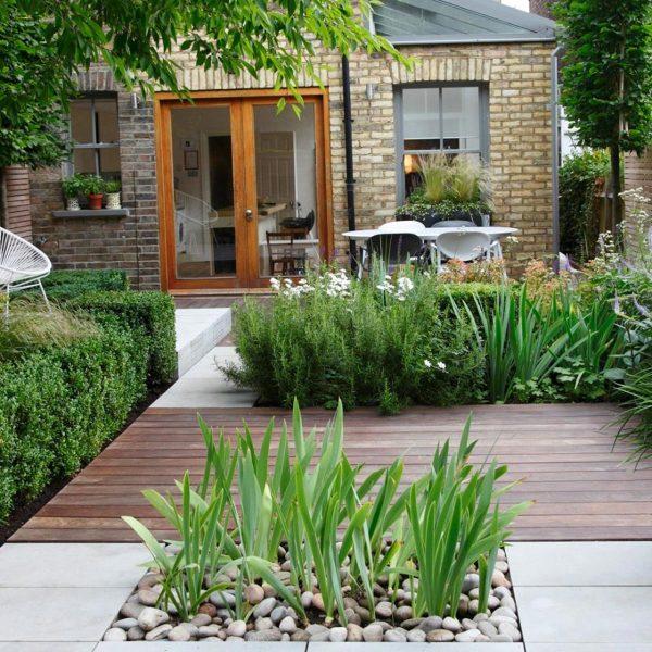 piccolo giardino senza prato