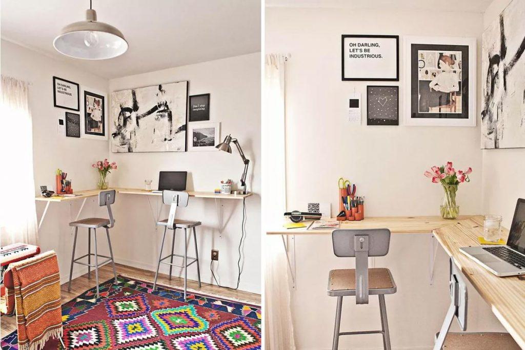 ufficio in casa condiviso