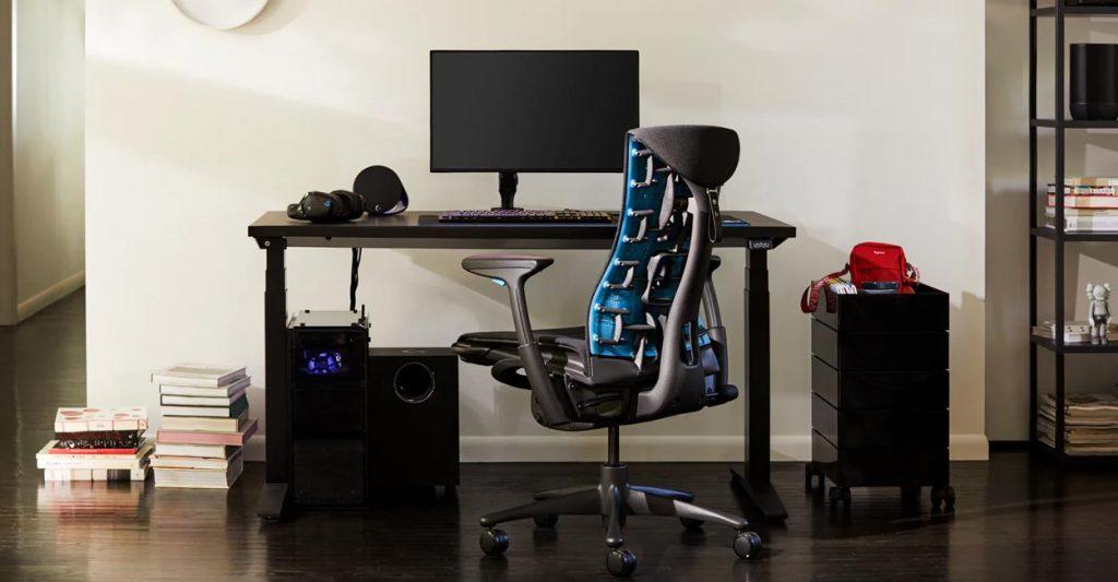 ufficio in casa sedia
