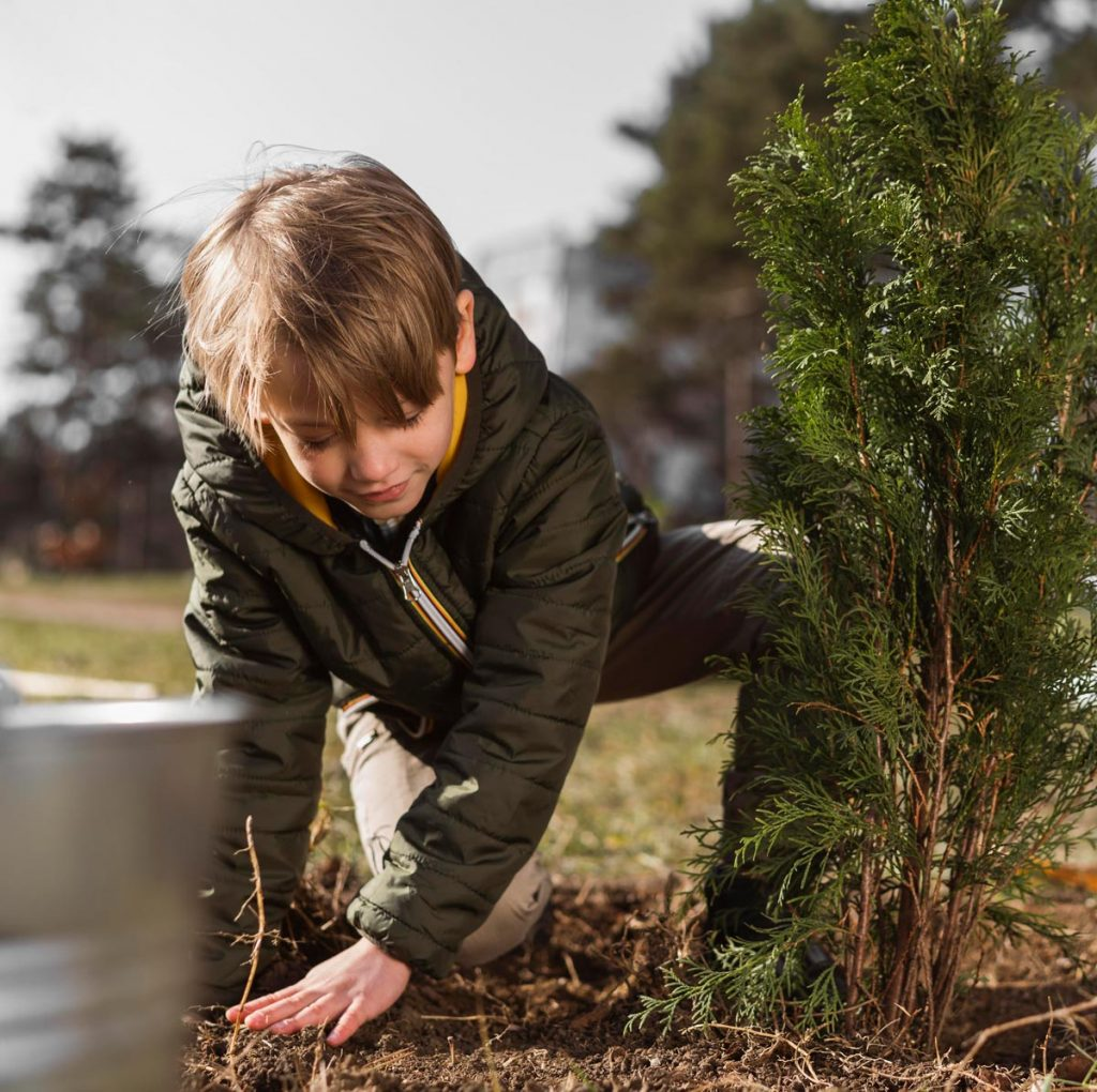 bambino attivita aperto natura